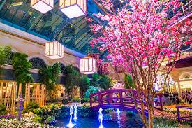 Bellagio Botanical Garden Bellagio Hotel Conservatory Botanical Gardens Editorial