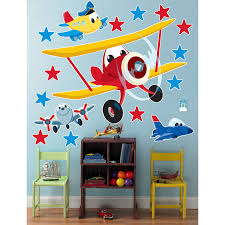 airplane adventure giant wall decals birthdayexpress com airplane adventure giant wall decals