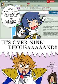 Its Over 9000 Meme - over 9000 by kimyoshiko on deviantart