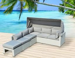 Patio Furniture White Outdoor Sectional Sofas Sectionals U0026 Modern Patio Furniture