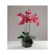 artificial orchids artificial flowers in vase wayfair co uk