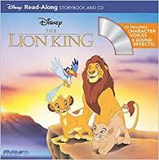 lion king storybook storybook cd