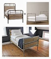 industrial bed frame best 20 industrial bed ideas on pinterest