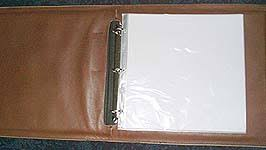 Leather Scrapbooks Single Row Barb Wire Leather Scrapbooks Photo Albums Personalized
