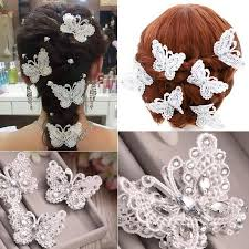 lace accessories 2015 vintage white bridal lace butterfly wedding
