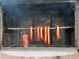 free images wood smoking rural food fireplace sausage