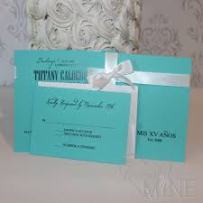 Party Invitations With Rsvp Cards Quinceanera Invitations With Rsvp Card Set Of 10 In Light