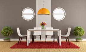 adorable modern dining room furniture design with clear glass