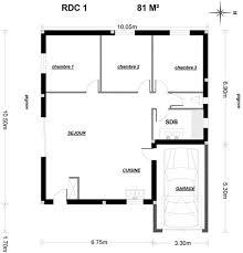 plan maison 7 chambres plan maison de plain pied 3 chambres 14 maison neuve lofts