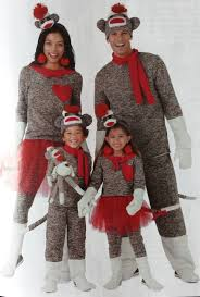 sock monkey costume 40 of the best family costumes ideas for jamonkey