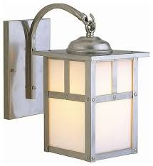 mission style outdoor wall light craftmade lighting mission style outdoor wall light with white