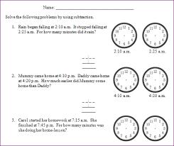 3rd grade elapsed time worksheets worksheets