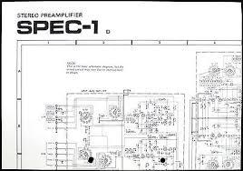 pioneer spec 1 original stereo pre amplifier wiring diagram