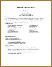 resume without work experience format no