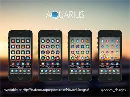 facebook themes cydia aquarius ios theme beta by novice designs on deviantart
