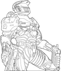halo coloring pages free coloring
