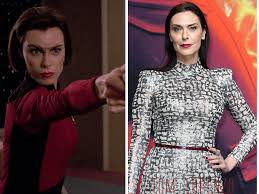 the cast of star trek then u0026 now ensign ro laren u2013 michelle forbes