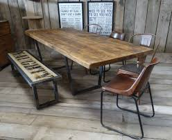 john lewis calia style industrial reclaimed dining table