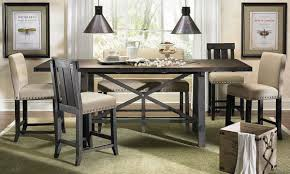 bar height dining room sets dining table 5pc counter height dining table and stools set