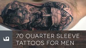 70 quarter sleeve tattoos for
