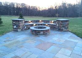 Patio Firepits Custom Outdoor Fireplaces Pits In Chester Montgomery