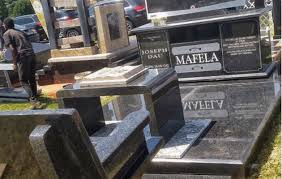 tombstone prices joe mafela s costly tombstone returned to west park cemetery the