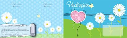 template undangan format cdr template undangan pernikahan lucu exabapjl