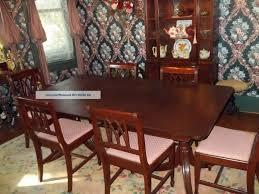 Mahogany Dining Room Table And 8 Chairs Mahogany Dining Room Table And 8 Chairs Six 360 Degree Swivel