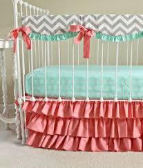 Nursery Bedding For Girls by Baby Crib Bedding Ready To Ship By Ziggetyzag On Etsy Baby