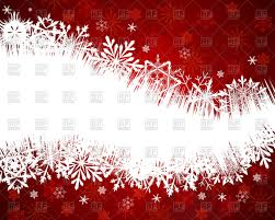 christmas card design with space for text vector clipart image