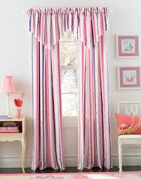 Pink Striped Curtains Great Blue And Pink Curtains Designs With Blue And Pink Striped