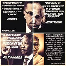 Malcolm X Memes - einstein malcolm x ghandi mandela on palestine conspiracy