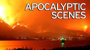 Wildfire Definition by Terrifying Time Lapse Video Shows Us City Engulfed By Wildfire