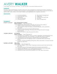 Best Resume For Administrative Assistant by Admin Assistant Resume Administrative Assistant Cv