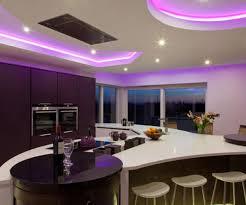Shades Of Purple Paint For Bedrooms - charmful purple lights plus paint color kitchen design idea plus