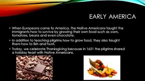 native americans celebrate thanksgiving supermarkets past and present ppt download