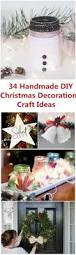 Creative Diy Christmas Decorations 34 Easy Handmade Diy Christmas Decoration Craft Ideas For Creative
