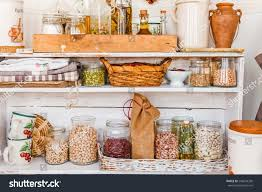 traditional home kitchen rustic still life stock photo 292634336
