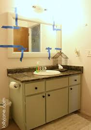 Bathroom Mirror Molding Diy Affordable Custom Bathroom Molding