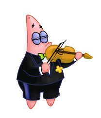 patrick as a violinist by allenare deviantart com on deviantart