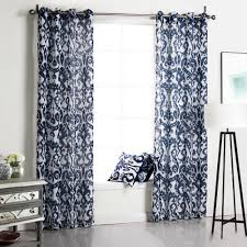 chinese curtains printed floral window curtains living room