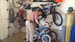 bike storage 5 garage bicycle storage options youtube