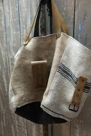 sac cabas en lin ma therapie creations vagabondes