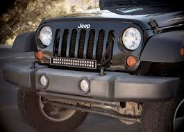 jeep kc lights amazon com kc hilites 368 grille mount c20 led bar and bracket
