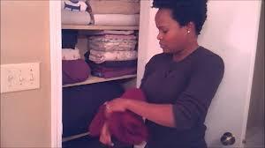 organizing your linen closet youtube