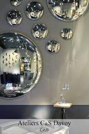 antique glass convex mirror interior dec pinterest antique
