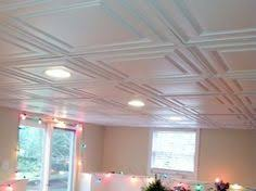 decorative drop ceiling tiles with recessed lighting basement