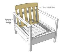 Diy Deck Chair Free Plans by Build Your Own Outdoor Sectional Beginner Project Free Plans At