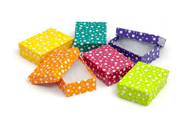 where can i buy a gift box 3 x 2 polka dot cotton filled jewelry gift box of 100 100