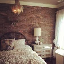 inspiring bedroom ideas on fair brick wallpaper bedroom ideas